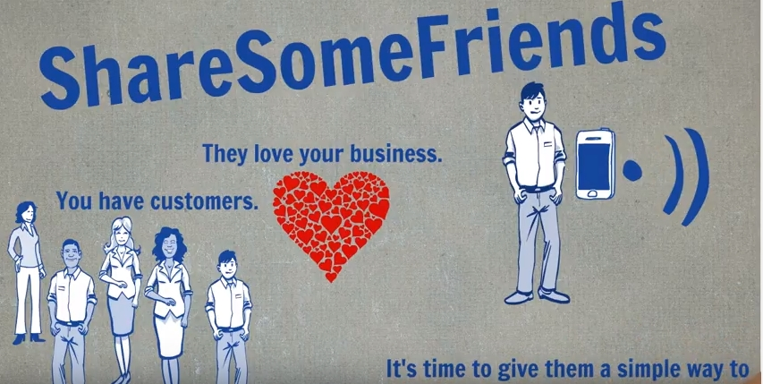 ShareSomeFriends - Give Customers a Quick & Easy Way to Refer Friends to Your Business