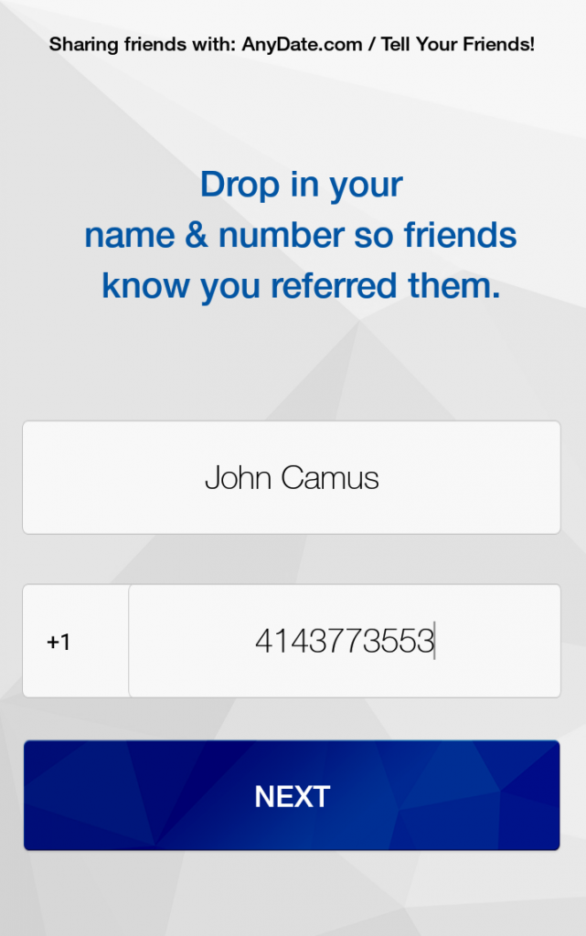get referral leads from your customers with the ShareSomeFriends app